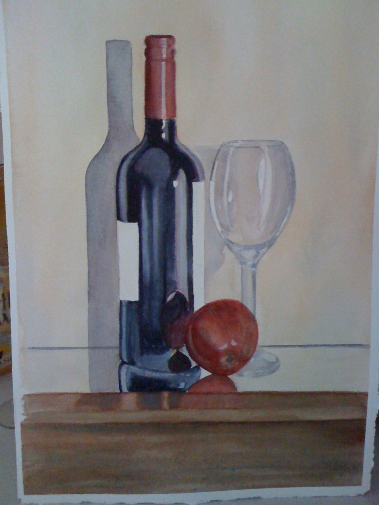 Watercolor, Still Life