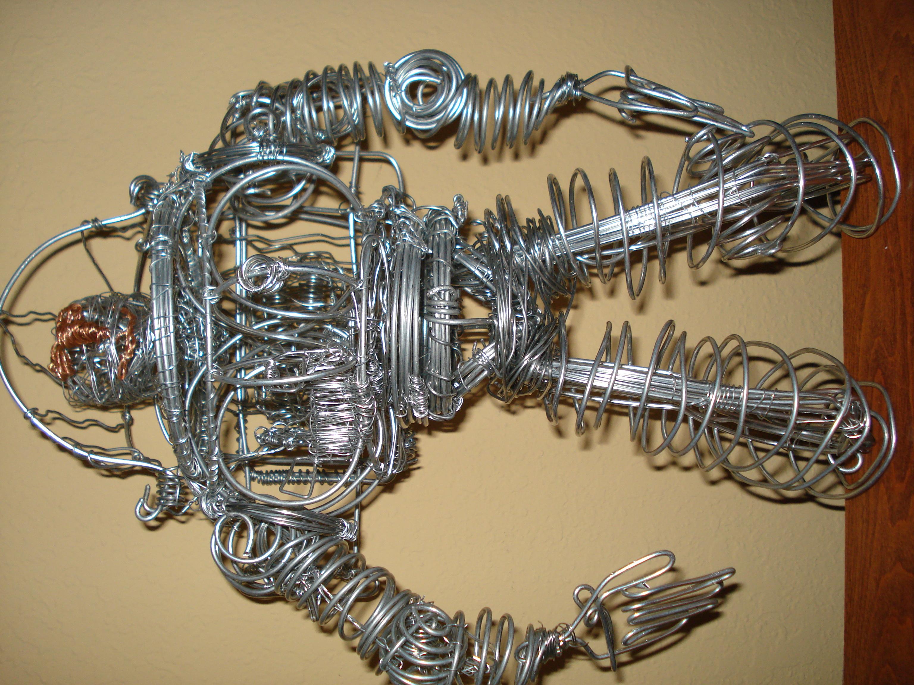 Barbara ann davis art for 3d wire art